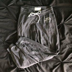 Aerie dark gray sweat pants